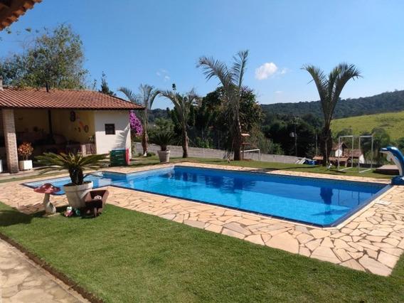 Chácara Em Centro (canguera), São Roque/sp De 210m² 4 Quartos À Venda Por R$ 380.000,00 - Ch307578