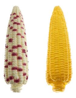 Amarelo Milho Vegetal Alimento Falsificação Natural Artifici