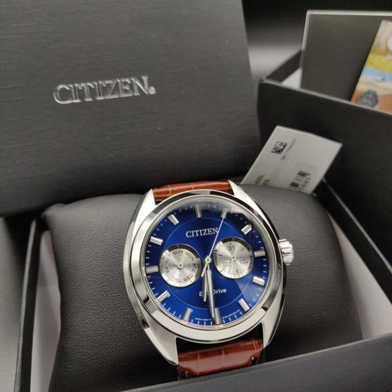 Relógio Citizen Eco-drive Bu4010-05l . Tz21027f . Aço Inoxidável . 100m . 44mm - Movimento Japonês