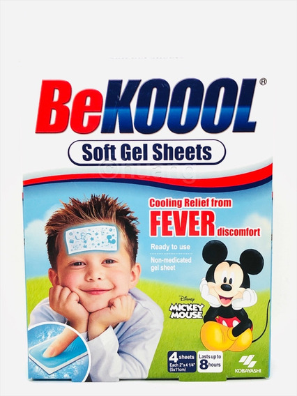 Adesivo Febre Infantil Be Kool Koool Fever - Original U S A