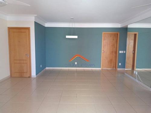 Apartamento Com 3 Dormitórios À Venda, 137 M² Por R$ 749.000,00 - Jardim Irajá - Ribeirão Preto/sp - Ap2445