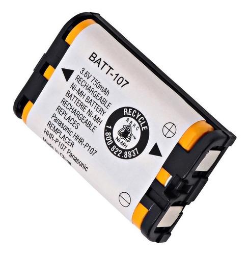 Bateria  Telefono Panasonic Hhr-p107 3.6v 750 Mah