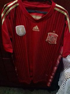 Camisa Seleção Da Espanha Campeã Mundial
