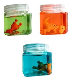 Slime Moco Con Figuras De Animales Juego De Niños De Moda