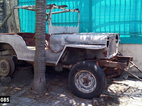 Jeep Willy (sin Papeles) Solo Chasis Y Carroceria.!