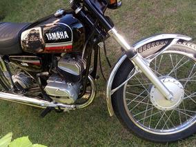 Moto Yamaha - Rx 125 - 1982 - Preta Raridade Linda