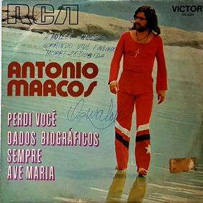Compacto - Antonio Marcos - Perdi Voce - Sempre - 1972 - Rca