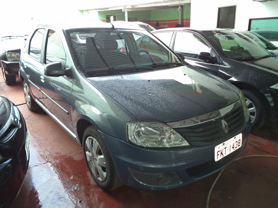 Renault Logan Expression 1.6 Cinza 2013
