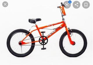 Bicicleta Peretti Freestyle Cromada