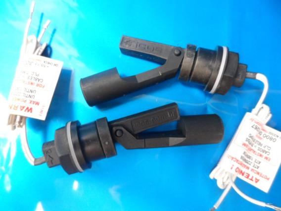 2 Sensor De Nível La 322 E40 Montg Galão Tanque Parede Fina