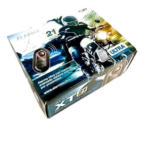 Alarma Ultra Para Moto Xt21 Premium Antiatraco Proximidad