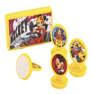 Carimbo Menino Infantil Disney Mickey C/ Almofada Criança