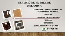 Armado Y Desarmado De Muebles De Melamina Llamar 947495420