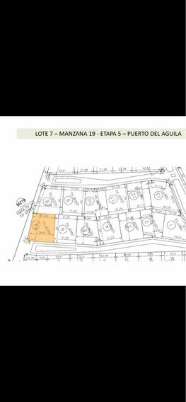 Puerto Del Aguila Liq. Exel.lote A 250 Mt. D.lago Rec Moto