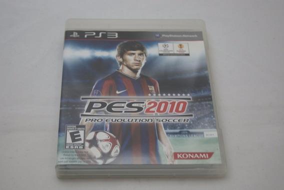 Jogo Ps3 - Pes 2010 Pro Evolution Soccer