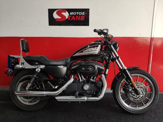 Harley Davidson Sportster Xl 883 R 2011 Preta Preto
