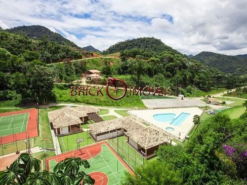 Imagem 1 de 9 de Terrenos A Venda Condomínio Vale Dos Ipes , Vargem Grande - Teresópolis/rj - Te00011 - 4732137