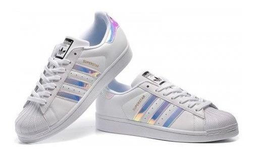 Tênis adidas Superstar Holografico Originals - Pronta Entrega