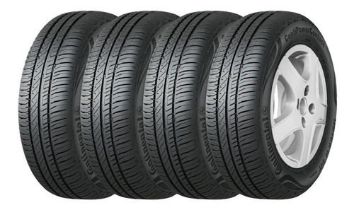 Kit X4 Neumaticos 175/70r14 84t Continental Power Contact