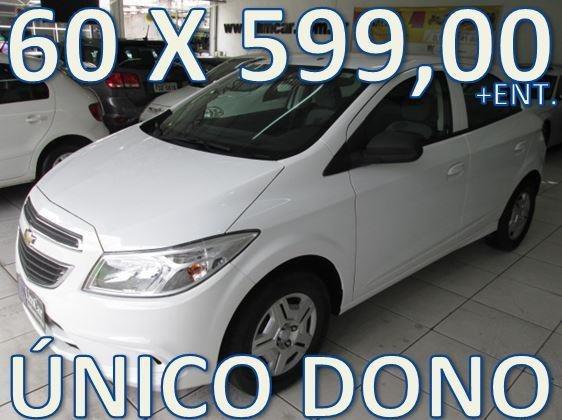 Chevrolet Onix Lt Flex Completo Entrada + 60 X 599,00 Fixas