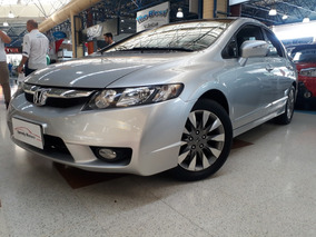 Honda Civic 1.8 Lxl Couro Flex Aut. 4p 2010 Apenas 69 Mil Km