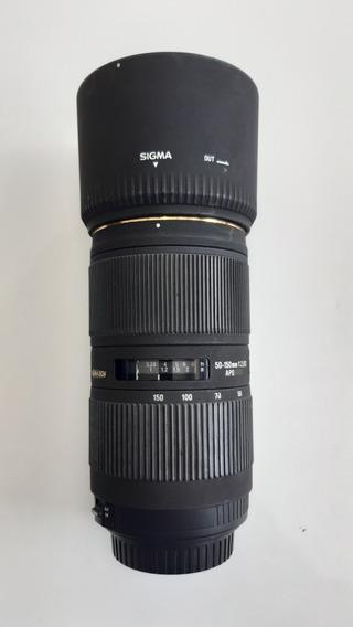 Lente Sigma 50-150mm Canon Com Desfoque De Fundo Lindo.