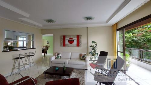 Apartamento Alto Padrão Para Alugar Em Guarujá/sp - 3501-2