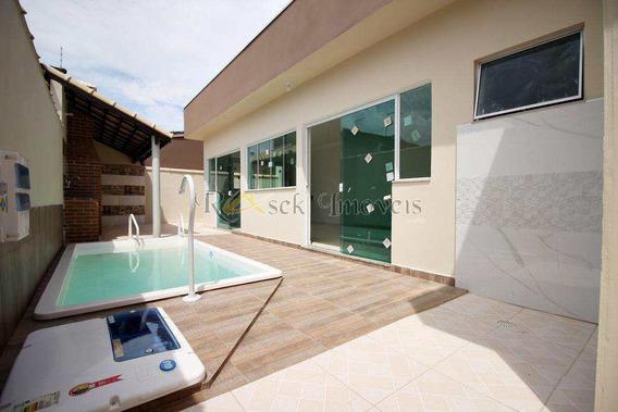 Lindas Casas Com Piscina E 3 Dorms, Lado Praia , Cod: 137 - V137