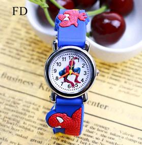 Relógio Infantil Homem Aranha 3d