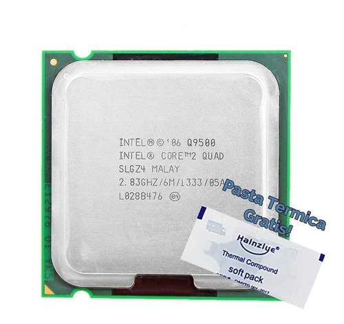 Processador Q9500 Core2quad + Brinde