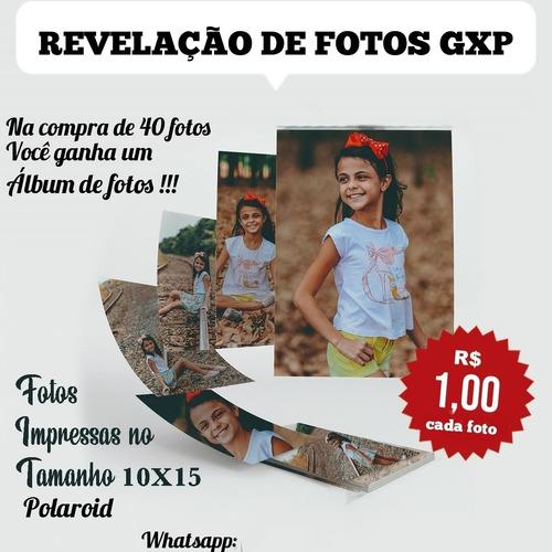 Imagem 1 de 1 de Revelação De Fotos Em Papel Fotográfico
