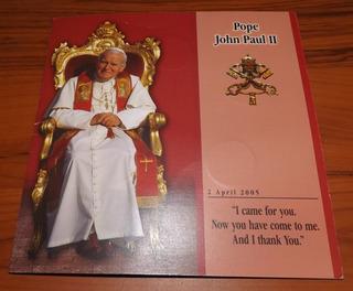 Colección Monedas Del Papa Juan Pablo Ii
