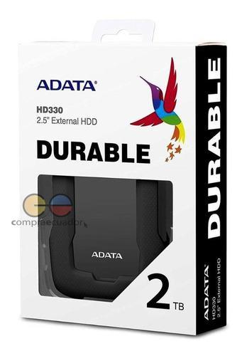 Adata Disco Duro Externo 2tb Usb 3.2 Gen1 Compatible Usb2.0