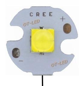 Led Cree 10w Branco Frio 6500k T6 16mm 12 V