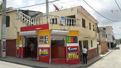 Se Vende Casa De Dos Niveles Y Local Banca Los Alcarrizos