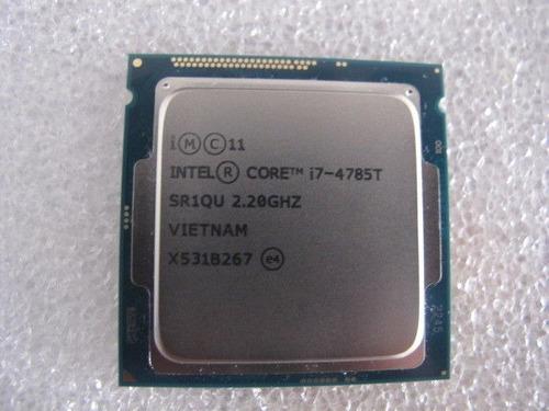 Imagem 1 de 2 de Core I7 4785t Lga Socket 1150 2.2g Oem Testado Com Garantia