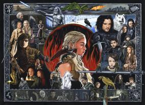 Poster Games Of Thrones Artetamanho A3 P3806