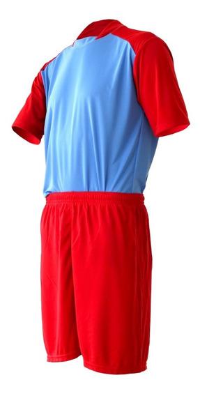 Kit Com 5 Jogos Camisa Trivela Futebol + Calção Liso