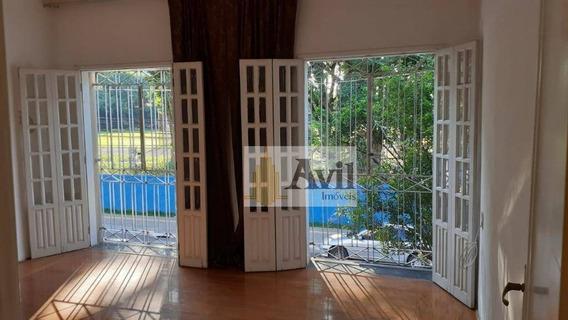 Casa Com 2 Dormitórios Para Alugar Por R$ 3.000/mês - Canindé - São Paulo/sp - Ca0115