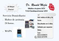 Servicio Holter De Arritmia Y Presión Mapa A Domicilio