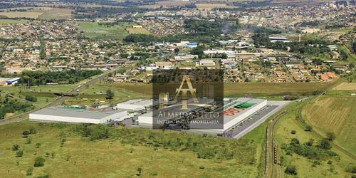 Excelente Galpão Para Locação Com 4.884,30 M² Em Londrina/pr - Confira! - Ga0556
