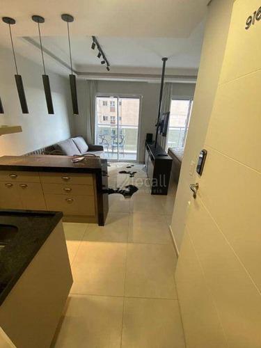 Imagem 1 de 12 de Apartamento Com 1 Dormitório À Venda, 34 M² Por R$ 350.000,00 - Jardim Tarraf Ii - São José Do Rio Preto/sp - Ap2698