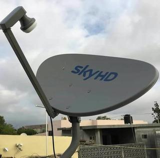 Antena Sky Hd Elíptica Nueva