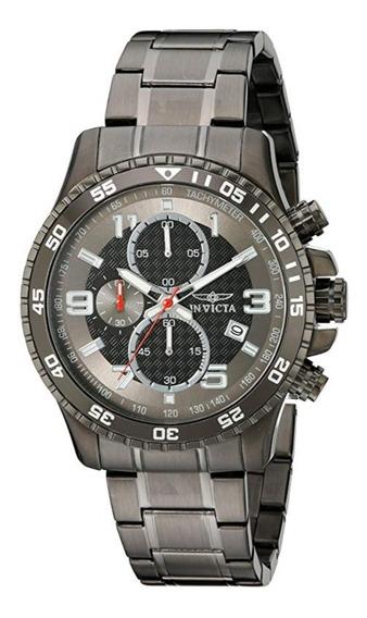 Nuevo Invicta 14879 Reloj Para Hombre, Negro/plata 12 Msi