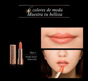 Lápiz Labial Inolvidable Color Double Touch Nude Color