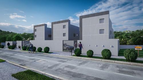 Casa Geminada Coletiva Com 2 Quartos Para Comprar No Xangri-lá Em Contagem/mg - Gar11873