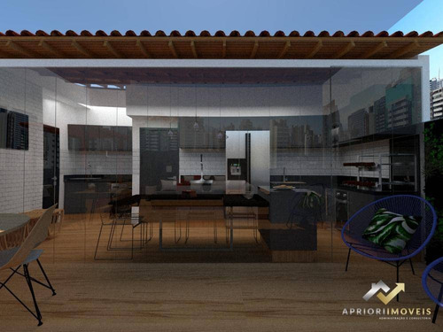 Cobertura Com 2 Dormitórios À Venda, 100 M² Por R$ 435.000 - Vila Bastos - Santo André/sp - Co0435
