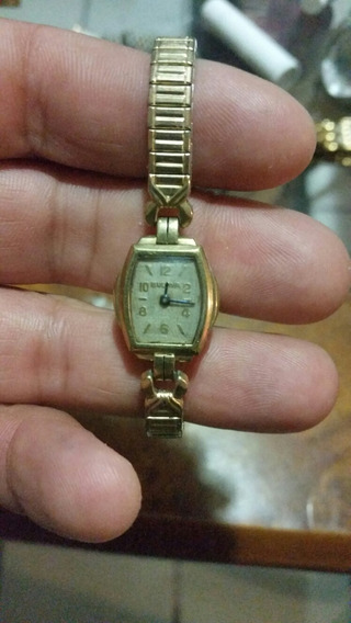 Reloj Bulova Dama Vintage Para Reparar