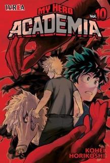 My Hero Academia - N10 - Ivrea - Sobrecubierta - Manga