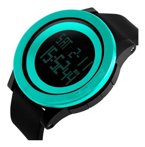 Reloj Sumergible Deportivo Skmei 1142 Luz Cronometro Alarma